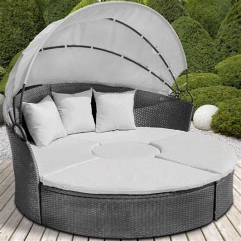 canape modulable stunning salon de jardin lit sofa rond contemporary
