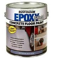 rust oleum epoxy shield concrete floor paint