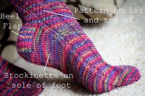 heel flap knitting convert pattern help