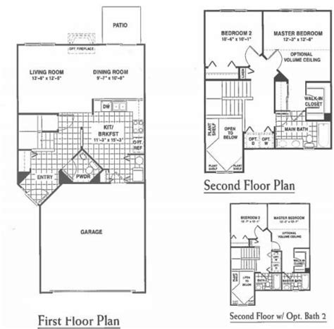 rockwell floor plan yellowstone model in the rockwell place subdivision in lakemoor illinois homes by marco