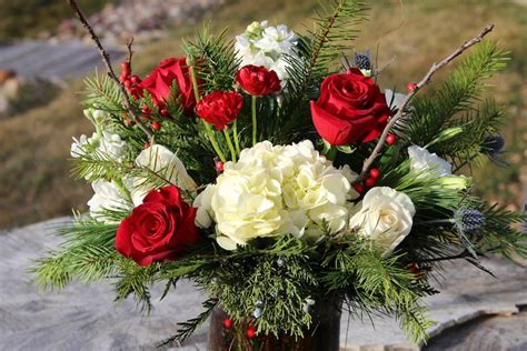christmas centerpieces delivered flower arrangements delivered in boulder colorado