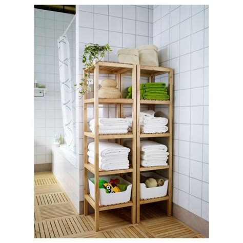 Bathroom Corner Shelving Unit Practical Corner In The Bathroom Wooden Shelf For Towels Book Or Any Of Shelf
