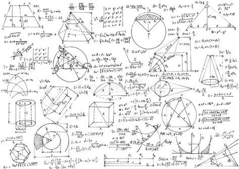 imagenes a blanco y negro de matematicas geometrie stockbild bild von form gleichung formulare