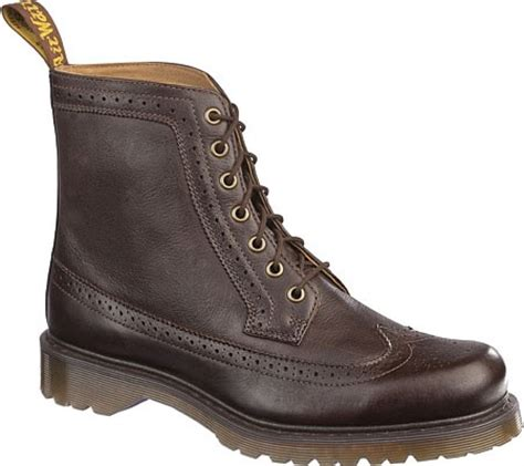 doc dr martens casual boots fitzroy brown uk size 6 12 7 8