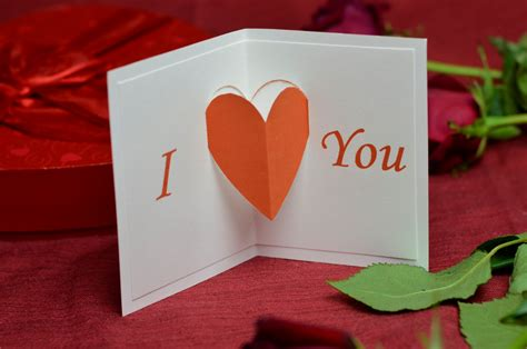 Easy Gift Card - ideas for valentine s day pop up cards