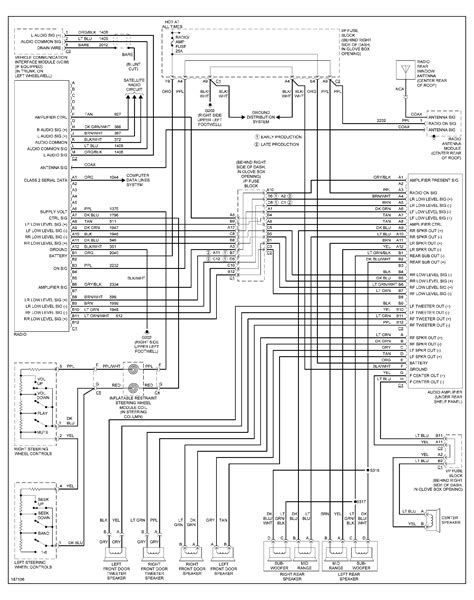 2000 pontiac grand am radio wiring diagram wiring diagram