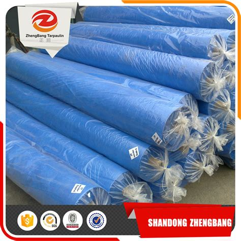 Roll Pe plastic sheet blue pe tarpaulin roll pe tarpaulin china