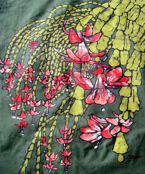 Leonard Batik cactus batik poster kristine allphin brakenhoff batik products poster