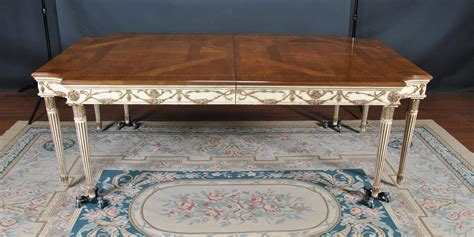 newport dining table e j victor newport table used but in great condition