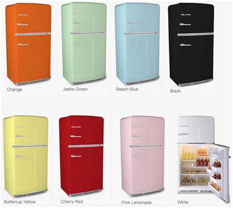 kitchen appliances colors big chill from retro kitchen modern home decor