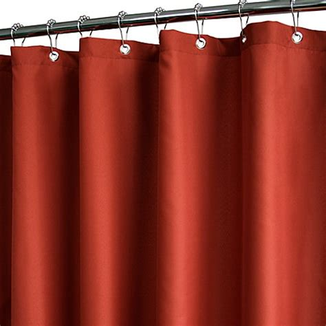 park b smith shower curtain buy park b smith 174 dorset solid russet 72 inch x 72 inch