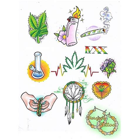 420 weed tattoo designs www pixshark com images
