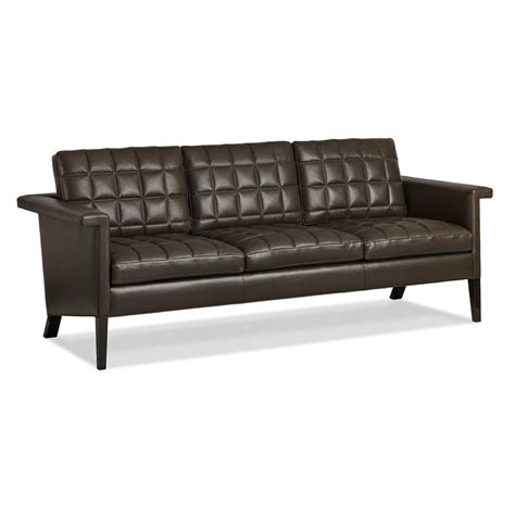 quilted couches hancock and moore 5987 3 maxcel quilted sofa discount
