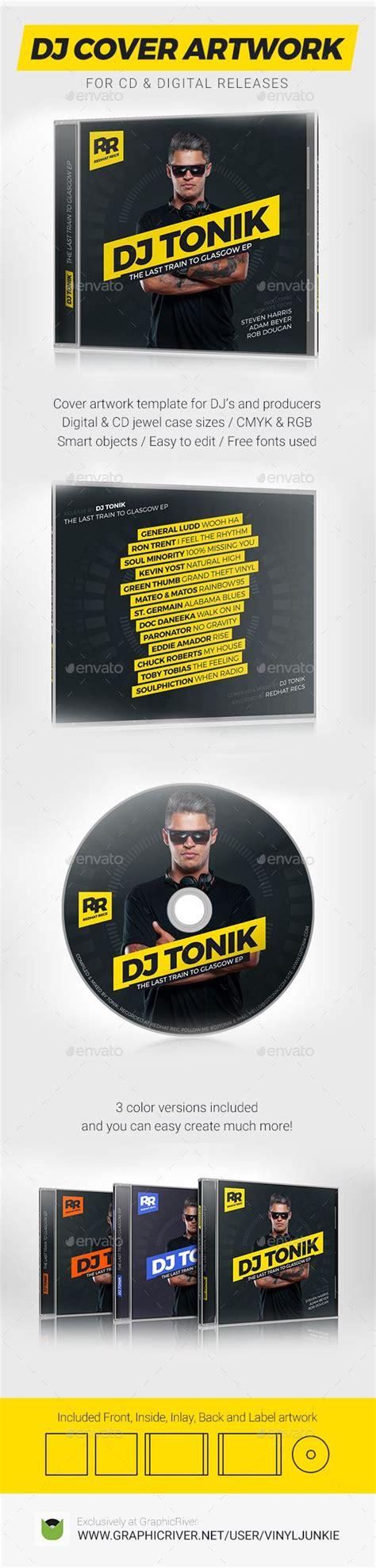 1000 Images About Dj Mix Cd Cover Artwork Templates On Pinterest Merry Christmas Flats And Free Press Kit Template Psd