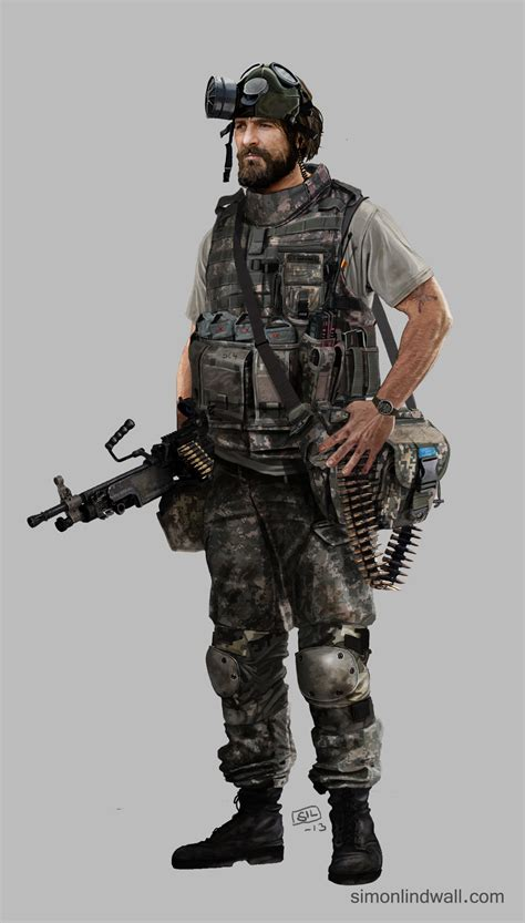 Modern Soldier Concept Art Pictures To Pin On Pinterest