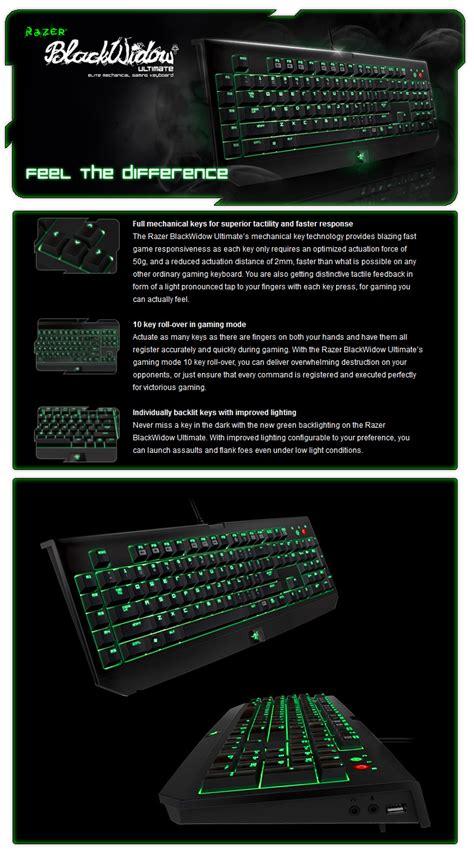 Razer Blackwidow Ultimate 2013 Elite Mechanical With Light by Razer Blackwidow Ultimate 2013 Elite Mechanical Gaming