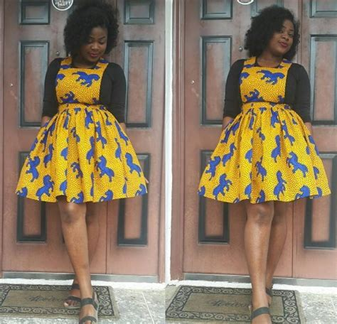 big gals rock ankara buba pix latest ankara styles how to rock the ankara pinafore look