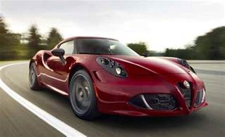 Alfa Romeo 4c Transmission Fuel Efficient Sports Cars Automatic Transmission Best