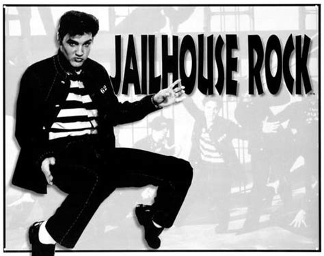 jail house rock elvis jailhouse rock tin sign at allposters com