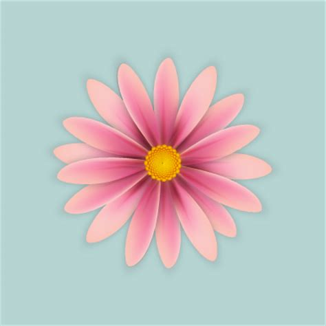 Simple Flower create simple flowers with gradient mesh in adobe illustrator