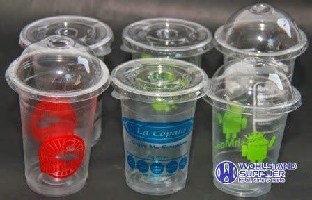 Tutup Gelas Cup Plastik Cembung sablon gelas plastik wohlstand supplier