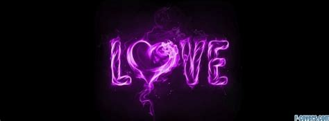 love purple facebook cover timeline photo banner  fb