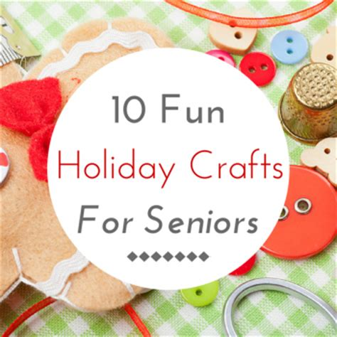 christmas crafts for seniors my blog