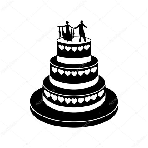 Hochzeitstorte Icon by Wedding Cake Simple Icon Stock Vector 169 Juliarstudio