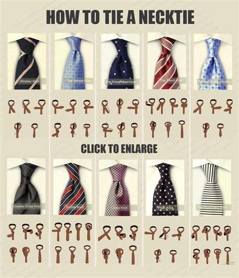 different neck tie knots and how to knot them s ties