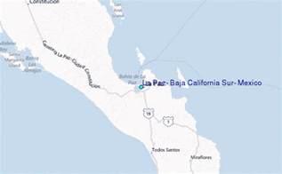 baja california sur map la paz baja california sur mexico tide station location