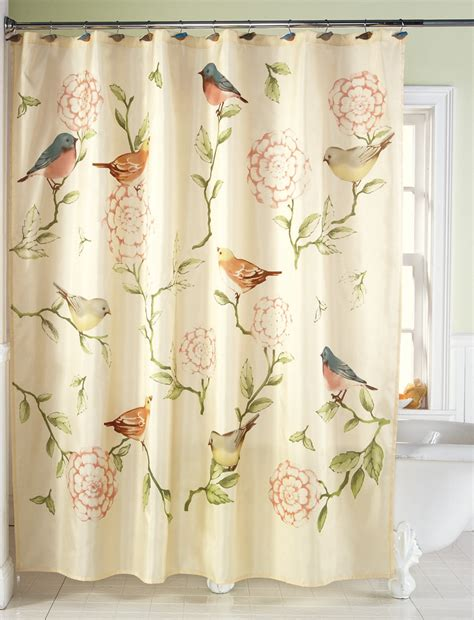 bird shower curtains bird shower curtains furniture ideas deltaangelgroup