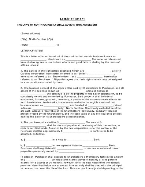 Letter Of Intent Form Company best photos of expression of interest loi sle letter intent template expression of