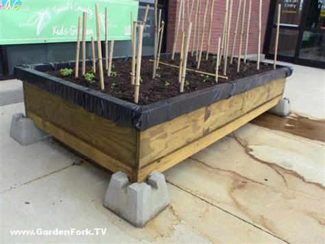 self contained garden raised bed garden plans for a self contained garden gf