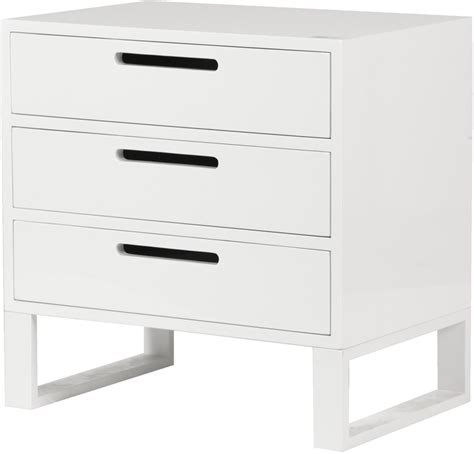 how high should a bedside table be white high gloss three drawer bedside table bedside tables