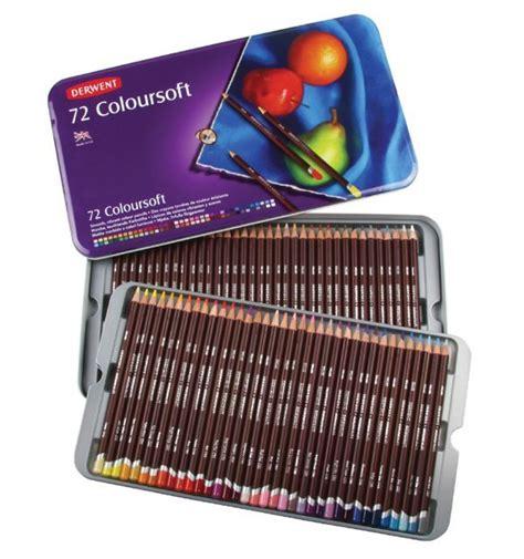 Derwent Colorsoft Coloured Pencil 36 Warna derwent coloursoft color pencils 72 pack pencils