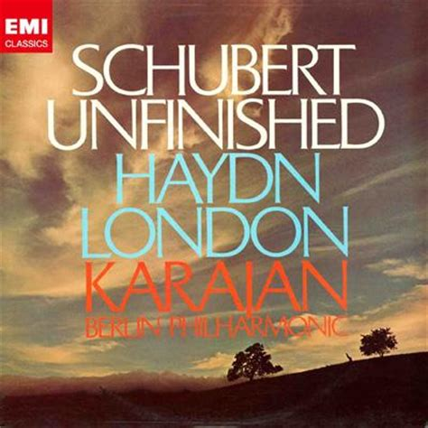 no no 8 schubert symphony no 8 haydn sympjony no 104 karajan