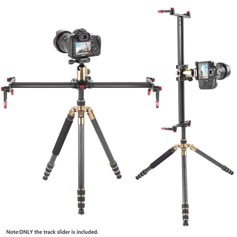 4 Bearings 60cm Slider Track Stabilizer neewer 39 4 inches 100 centimeters aluminum alloy track slider stabilizer rail with