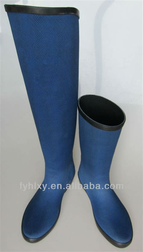 2014 leopard thigh high rubber boots buy
