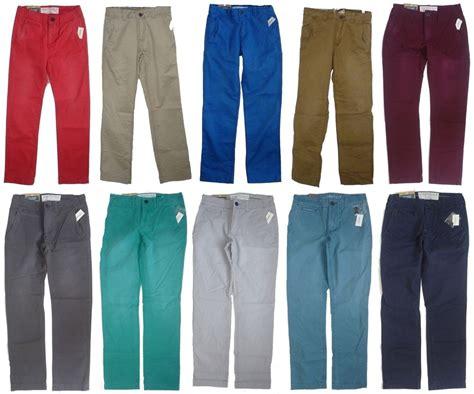 colored khakis mens s aeropostale slim colored chinos