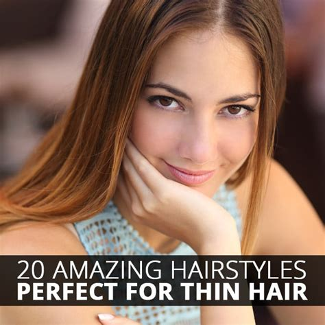 20 Perfect Hair Styles For Thin Hair | 20 amazing hairstyles perfect for thin hair