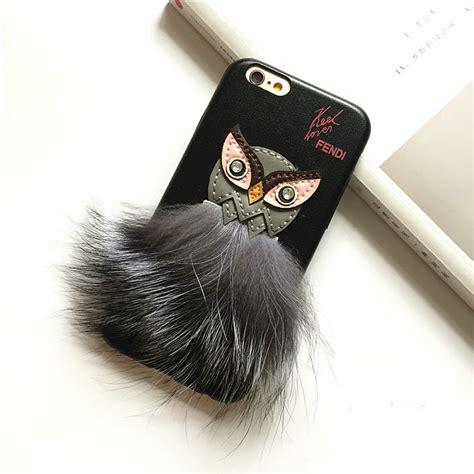 buy wholesale fendi karl lagerfeld owl rabbit fur leather