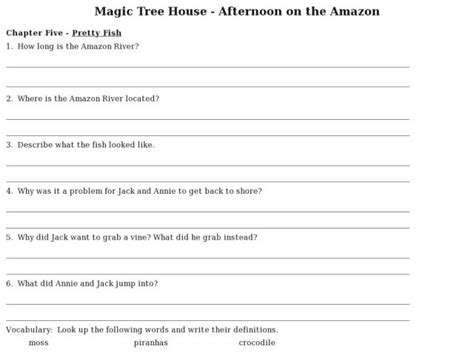 magic tree house printable quizzes mummies in the morning worksheets free worksheets library