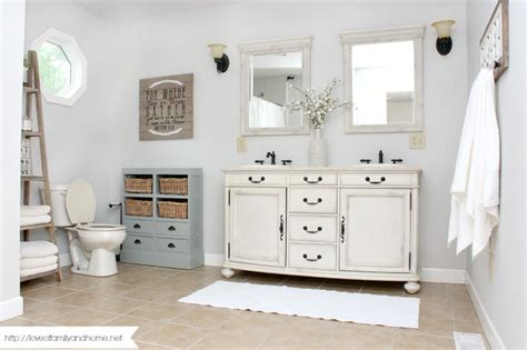 farmhouse style bathroom farmhouse style bathroom makeover love of family home
