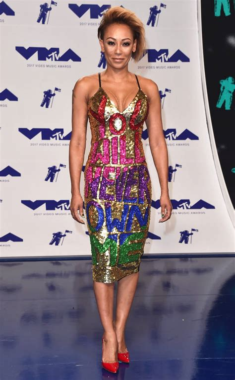 Mel Dress mel b s dress at the 2017 mtv awards fires at