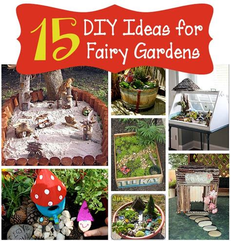 backyard fairy garden ideas 15 diy fairy garden ideas mother s home