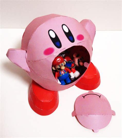 Papercraft Kirby - kirby paper nintendo papercraft