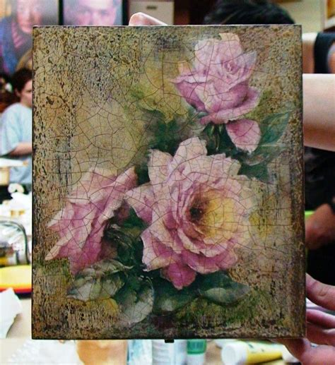 Fabric Decoupage On Wood - 17 best images about decoupage on fabric