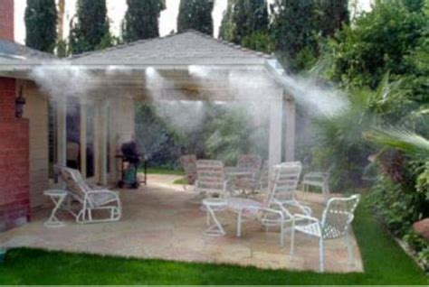 Best Patio Misting System by New Fresh Fog 80042 Electric Outdoor Patio Cooling Misting