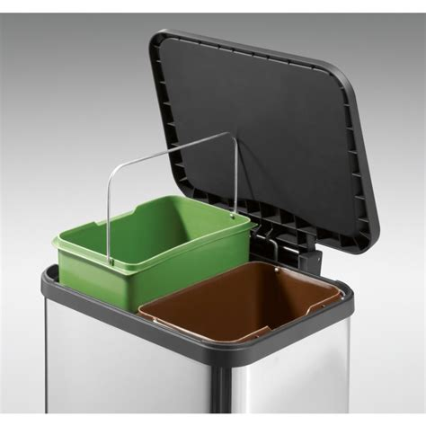 Three Section Recycling Bin by Designing For Disposal Part 3 Recycling Stations Core77