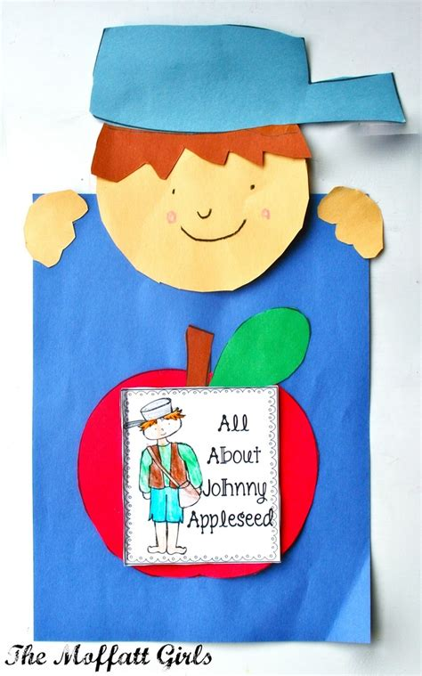 johnny appleseed crafts preschool crafts for kids johnny appleseed craft pre k september pinterest